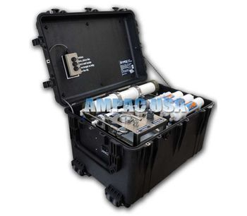 Ampac - Model 150GPD & 560LPD - Portable Emergency Seawater Desalination Watermaker