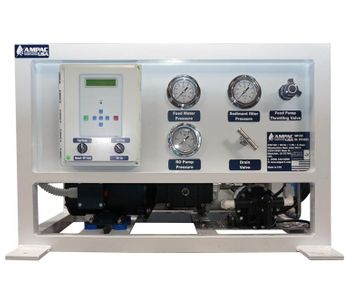 Ampac - Model 100 GPD & 380 LPD - Seawater Desalination RO Watermaker