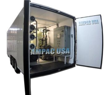 Ampac - Model SW100K-LX - Mobile Seawater Desalination Watermaker System