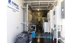 Ampac - Model SW100K-LXC - Mobile Seawater Desalination Plant