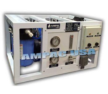 Ampac - Model 300 GPD - 1135 LPD - Seawater Desalination RO Watermaker