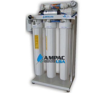 Ampac - Model 200 GPD - 750 LPD - Light Commercial Reverse Osmosis Water Purification Systems