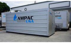 Ampac - Model AP20K-LX-C - Emergency Portable Reverse Osmosis 20,000 GPD - 3.18m3/hr