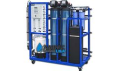Ampac - Model AP1500-LX - Commercial Turnkey Reverse Osmosis System 1,500 GPD - 5.7m3/Day
