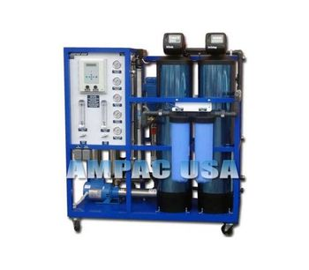 Ampac - Model AP6000-LX - Commercial Turnkey Reverse Osmosis System 6,000 GPD - 22.7m3/Day