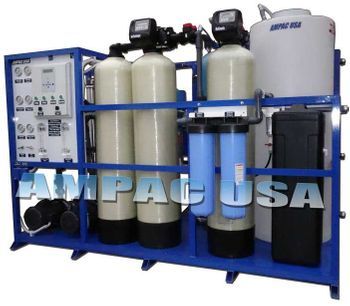 Ampac - Model AP6000-SM-LX - Industrial Reverse Osmosis System 6,000 GPD - 22.7m3/Day