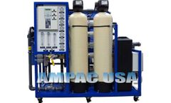 Ampac - Model AP8000-LX - Commercial Turnkey Brackish Reverse Osmosis System 8,000 GPD | 30m3/Day