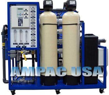 Ampac - Model AP8000-LX - Commercial Turnkey Brackish Reverse Osmosis System 8,000 GPD | 30m3/Day