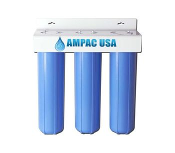 Ampac - Model BB3-20 - Wholehouse Triple Big Blue