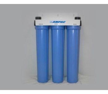 Ampac - Model SL3-20 - Slim Line Twin Home Water Filter