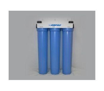 Ampac - Model SL2-20 - Slim Line Twin Home Water Filter