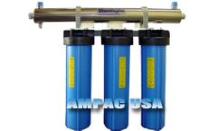 Ampac - Model BB4-20 - Quad Whole House Water Filter