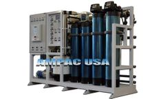 Ampac - Model AP8000-LX-1 - Industrial Reverse Osmosis System 8,000 GPD - 30.2m3/Day