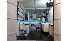 Ampac - Model BWRO-10K-LXC - Emergency Mobile Turnkey Brackish Reverse Osmosis System 10,000 GPD - 37.9m3/Day