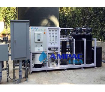 Ampac - Model AP12K-LX - Industrial Reverse Osmosis System 12,000 GPD - 1.9m3/hr