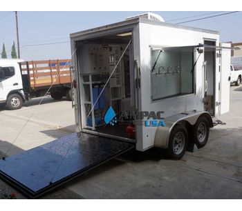 Ampac - Model TR-3000 - Mobile Trailer Reverse Osmosis System 3,000 GPD - 11.4mm³/hr.