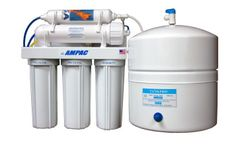 Ampac - Model APRO5 - Reverse Osmosis Drinking Water Filter System - 5 Stage