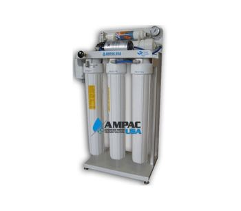 Ampac - Model APRO100 - Commercial Reverse Osmosis System 100 GPD - 380 LPD