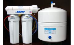 Ampac - Model APRO3 - Reverse Osmosis Drinking Water Filter System - 3 Stage RO