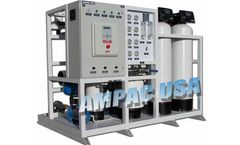 Ampac - Model AP10K-LX - Industrial Reverse Osmosis System 10,000 GPD - 1.6m3/hr