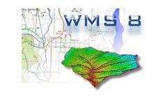Version WMS v.8.0 - Watershed Modeling System