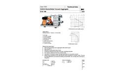 Model EVA 180 - Sewage Vacuum Units- Brochure
