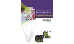 CyberScan - Model pH 11 & pH 110 - Standard Handhelds System - Datasheet