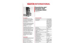 HYDAC - Model FAM 10 - Fluid Servicing and Care Systems Brochure