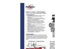 ProSonix - Model PSX I-Series - Inline Heater with Jet Diffuser Brochure