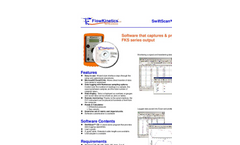 SwiftScan - Direct Computer Data Acquisition Software - Brochure