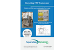 NDT/FPI Wastewater Recycling System - Brochure