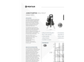 MultiCut - Model 08 - Sewage Pumps - Brochure
