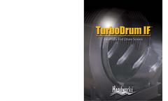 TurboDrum - Model IF - Internally Fed Drum Screen Brochure