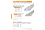 Channel-Type - Instrumentation Tray - Datasheet