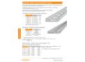 Channel-Type - Instrumentation Tray - Datasheet