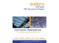 Enduro Tuff Span - Fiberglass Structural Shapes - Catalogue