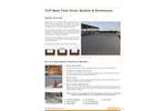 Tuff Span - Walk-In Fiberglass Tank Cover - Brochure