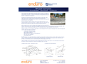 Enduro - Model FRP - Fiberglass Launder Covers System - Brochure