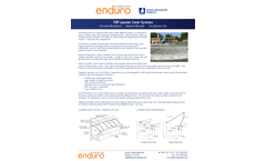 Enduro - Model FRP - Fiberglass Launder Covers System - Brochure