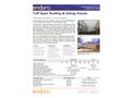 Enduro Tuff Span - Model 5.33 x 1.75 - Fiberglass V-Beam Panel - Datasheet
