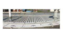 Enduro - Model FRP - Fiberglass Launder Covers System