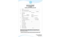 Customer Contacts Update Form Brochure