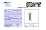 Gigamem - UF240 Module - Range For Filtration Specifications