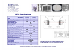 UF20: Filtration Surface 4.5 m² Specifications