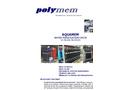 Aquamem Water Purification Units Ultrafiltration Brochure