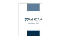 Blackstone-Consulting - Statement Of Qualifications (SOQ) 2014- Brochure