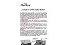 Absolent - Model A Smoke 5 - Oil Smoke Filter Brochure