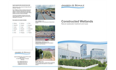 Constructed Wetlands - Natural Wastewater Treatment and Reuse Brochure
