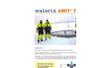 Waterix AIRIT - Model 70 - Compact Sized and Lightweight Aerator Brochure