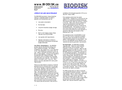 BIODISK - Operation and Maintenance Services - Brochure